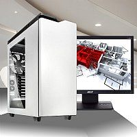 Custom Core i7 LGA2011-v3 Video Editing PC with 6 Core i7 5930K, Quadro K4200 w/4GB