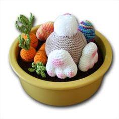 Mesmerizing Crochet an Amigurumi Rabbit Ideas. Lovely Crochet an Amigurumi Rabbit Ideas. Holiday Crochet, Crochet Home, Crochet Crafts, Crochet Projects, Easter Crochet Patterns, Crochet Patterns Amigurumi, Crochet Rabbit, Cute Crochet, Diy Ostern