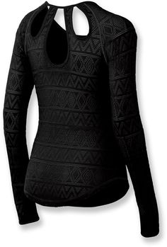 Great back detail! ASICS Courtenay Shirt - Women's.