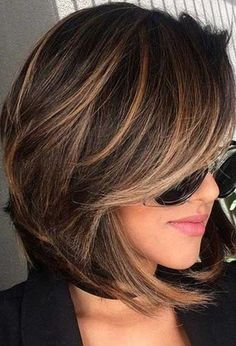 35 Short Chocolate Brown Hair Color Ideas to Try Right Now, Short Chocolate Brown Hair Color Ideas Tell me who does not love these chocolate brown hair colors? Due to its naturality, 35 short chocolate brown . Brown Hair Shades, Light Brown Hair, Brown Hair Colors, Brown Hair With Highlights, Brown Blonde Hair, Brunette Highlights, Color Highlights, Brunette Bob, Caramel Highlights