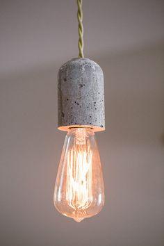 The Bullet Pendant Light by GrahamBurns on Etsy, $165.00