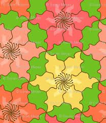 Image Result For Tessellating Shapes Templates A Flower Design Diana Berriman Tessellations