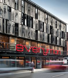 Original Everyman Theatre in Liverpool.