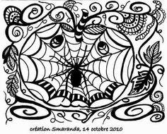 French Zendalas & Zentangles: Smaranda