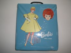 I Had A Vinyl Barbie Case Just Like That! I Sure Do Wish I had Saved It Along With All My Barbies & The Outfits!