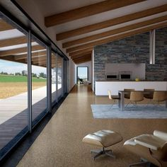 eCork Natural Cork Flooring - Mist - 600 x 300 x 4mm