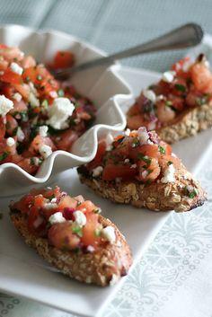 Bruschetta-5 by Sonia! The Healthy Foodie, via Flickr