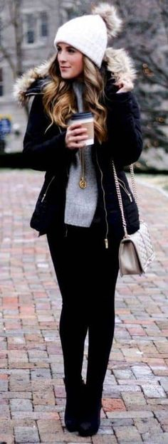 winter outfits leggins Winter Outfits to Shop - winteroutfits Winter Outfits For Teen Girls, Winter Outfits Women, Casual Winter Outfits, Outfits For Teens, Spring Outfits, Cute Outfits, Outfit Winter, Winter Dresses, Winter Wear
