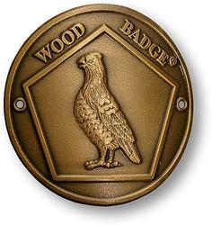 Bobwhite Hiking Stick Medallion