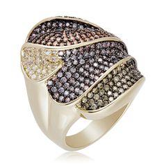 Multi Colored Acodado Ring for Women