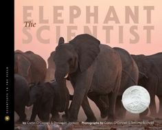 """This book takes you on a journey to the Namibian desert with Caitlin O'Connell, the American scientist who became known as """"the mother of all elephants,"""" and follows her research as she witnesses groundbreaking discoveries about one of nature's largest , most complex, and most intelligent mammals living today on this earth- the African elephant."""
