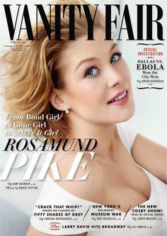 Rosamund Pike para Vanity Fair