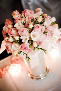 pink and cream elegance