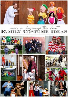 Family Costume Ideas - Sugar Bee Crafts