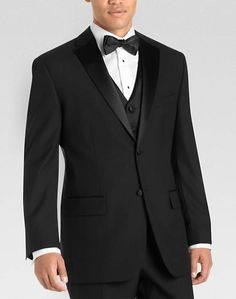 Wilke Rodriguez Black Portly Fit Tuxedo - Mens Tuxedos, Tuxedos & Formalwear - Men's Wearhouse