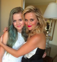 7 Times Reese Witherspoon's Daughter Was Her Twin  - TownandCountryMag.com  Beautiful~
