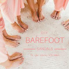DIY: Barefoot Sandals + More Beachy Bridesmaids Gifts