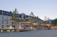 Localarchitecture .  The New Market Square Cover . Renens (5)