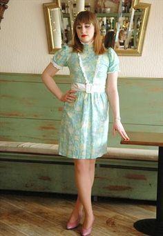 1960'S COTTON BABY DOLL MINI DRESS BY DOLLYROCKERS  £35.00 ASOS Marketplace UK.