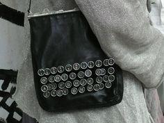 !!!!!!!!Typewriter Purse