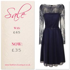 Little Mistress Stripe Lace Sarah Dress #sale #feathersboutique #liverpool #love #fashion #fashionista #style #stylist #clothes #clothing #ootd #fbloggers #bbloggers #bloggers #blogging #blog #picoftheday #photooftheday #outfit #littlemistress #dress