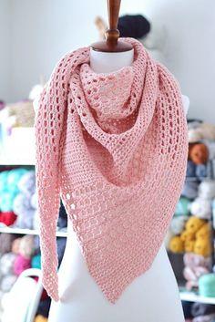 Adore Shawl pattern by Toni Lipsey