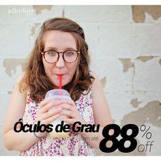 Até 88% de desconto nos óculos de grau, aproveite!  #aoculista #glasses #sunglasses #eyeglasses #oculos