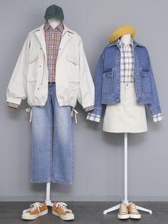 Fashion Couple, Cute Fashion, Fashion Outfits, Fashion Wear, Korean Fashionista, Moda Outfits, Matching Couple Outfits, Lolita, Mode Chic