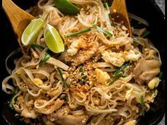 A terrific Pad Thai recipe that stacks up to great Thai restaurants yet is totally doable for every home cook with just a trip to the supermarket. If you can't find Tamarind paste, don't fret - there's a terrific substitute that yields a remarkably similar result