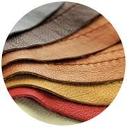 Order fabric and leather samples for free.
