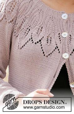 Listen to nature jacket / DROPS - free knitting patterns by DROPS design Listen to nature jacket / DROPS – free knitting patterns by DROPS design Source by burkardt Sweater Knitting Patterns, Knitting Stitches, Knitting Designs, Knit Patterns, Free Knitting, Baby Knitting, Finger Knitting, Knitting Videos, Knitting Machine