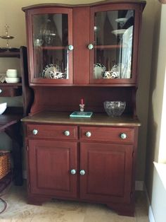 How To Paint Over Old Bathroom Cabinets used miss lillian's no wax italian lace chalk paint over my old