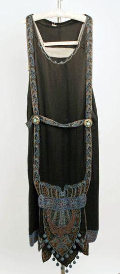 Callot Soeurs 1924-25 silk