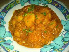 Tocanita de cartofi de post Potato Recipes, Curry, Appetizers, Potatoes, Drinks, Ethnic Recipes, Food, Curries, Snacks