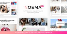 Noema is a Premium WordPress Theme is Perfect for any Blog or Magazine. Theme has a unique design with a lot of options, that can help customizing your blog, changing colors, fonts, layouts, post views and more.   	Unlimited blog styles and layout combinations (5+ Blog layouts, 4+ Featured Posts Slider layouts, unlimited widget combinations,   #blog #blogger #blogging #clean #creative #elegant #instagram #lifestyle #likes #minimal #personal #responsive #shop #woocommerce #wordpress