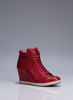 red sneaker wedges, if you see this pair please let me know or #BeMySanta