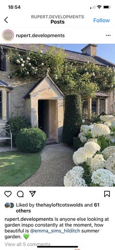 Cabin, Mansions, Landscape, House Styles, Garden, Home Decor, Scenery, Garten, Decoration Home