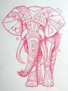 Steampunk Elephant Tattoo Design by Lucky101212.deviantart.com on @deviantART
