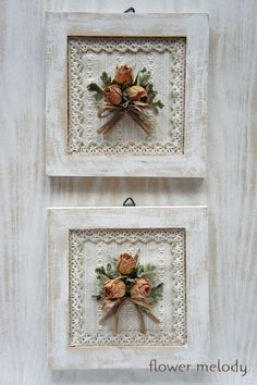 Foto – dried Rose's made into a frame for Rebekahs BIRTHDAY Wohnzimme… - Wohnaccessoires Ideen Shabby Chic Crafts, Shabby Chic Decor, Manualidades Shabby Chic, Drying Roses, Decoration Christmas, Deco Floral, Frame Crafts, Bridal Shower Decorations, Easy Home Decor