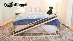 doggoramps small dog bed ramp Dog Ramp For Bed, Dog Beds For Small Dogs, Ramps For Dogs, Pet Ramp, Dog Ear Cleaner, Dachshund Funny, Dog Stairs, Dog Playpen, Sleeping Dogs