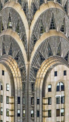 possibly the pinnacle of art deco: the Chrysler Building in New York City, designed by William Van Alen, completed 1930