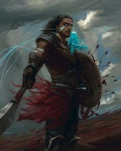 More fan-art from the fantastic Stormlight Archive series by Brandon Sanderson. One of my favorite moments from one of my favorite characters, Kaladin Stormblessed. Character Portraits, Character Art, Character Design, Dnd Characters, Fantasy Characters, Fantasy Inspiration, Character Inspiration, Kaladin Stormblessed, Brandon Sanderson Stormlight Archive