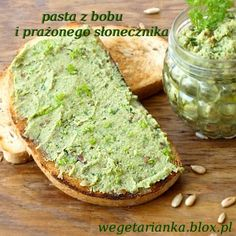pasta z bobu i prażonego słonecznika Skinny Recipes, Raw Food Recipes, Appetizer Recipes, Cooking Recipes, Healthy Recipes, Fabulous Foods, Appetisers, Good Food, Food And Drink