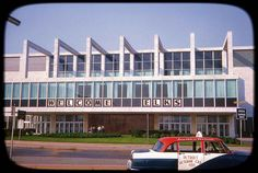 Cobo Hall in Detroit, Michigan - August 30, 1962 by vieilles_annonces, via Flickr