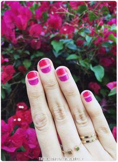 Color block: la nail art geometrica è la tendenza della primavera estate 2016!