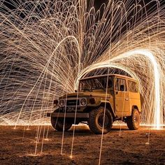 The Coolest Car of All Time! Toyota Fj40, Toyota Fj Cruiser, Motorcycle Camping, Camping Gear, Vintage Trucks, Pretty Cool, Offroad, Cool Cars, Jeep