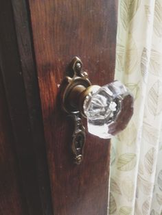 1920s house - original doorknobs