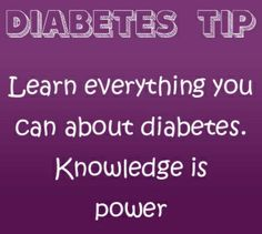 Knowledge is power  This is great advice.  I think the more we know about diabetes short and long term complications.  The fact that good control can mean a happy  healthy life!  Staying positive and never giving up.....all of this makes a difference in our lives! #diabetesawareness #typeone #type1diabetes #doc #dt1 #knowlege#power #strength #diabuddies #wecan by type1diabeticlyf