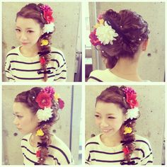 成人式hairset☆ l 浜松市にある美容室 Brillant
