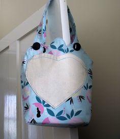 child's floral cotton print shoulder bag £12.00